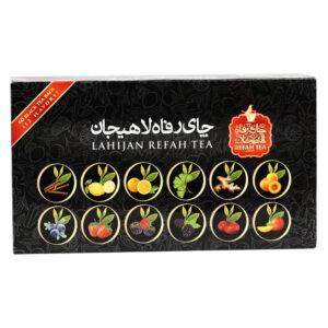 چای سیاه کیسه ای 12 طعم