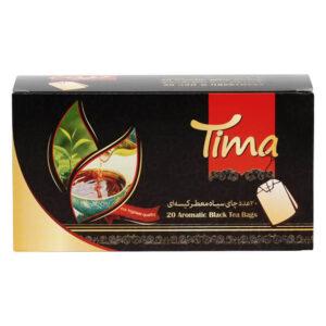 چای تی بگ سیاه معطر تیما