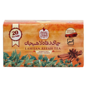 چای تی بگ سیاه با دارچين طبیعی