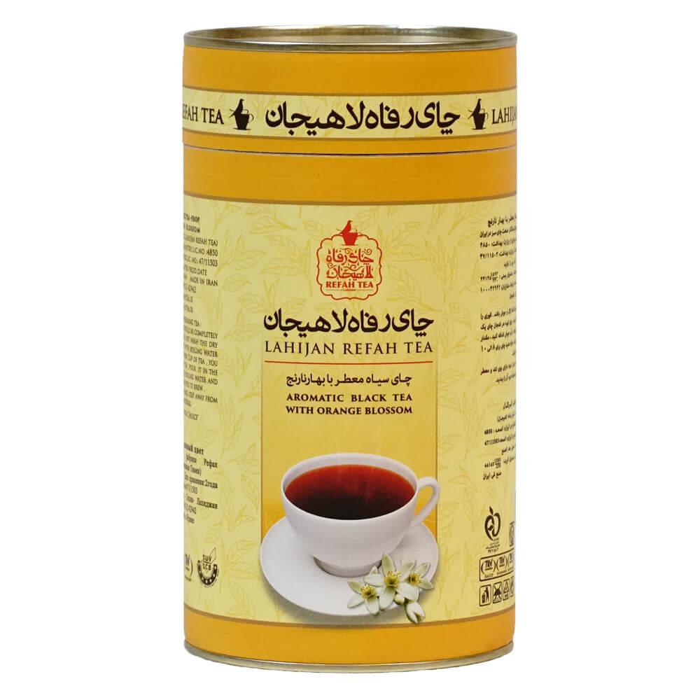چای سیاه شکسته ممتاز با بهارنارنج طبیعی