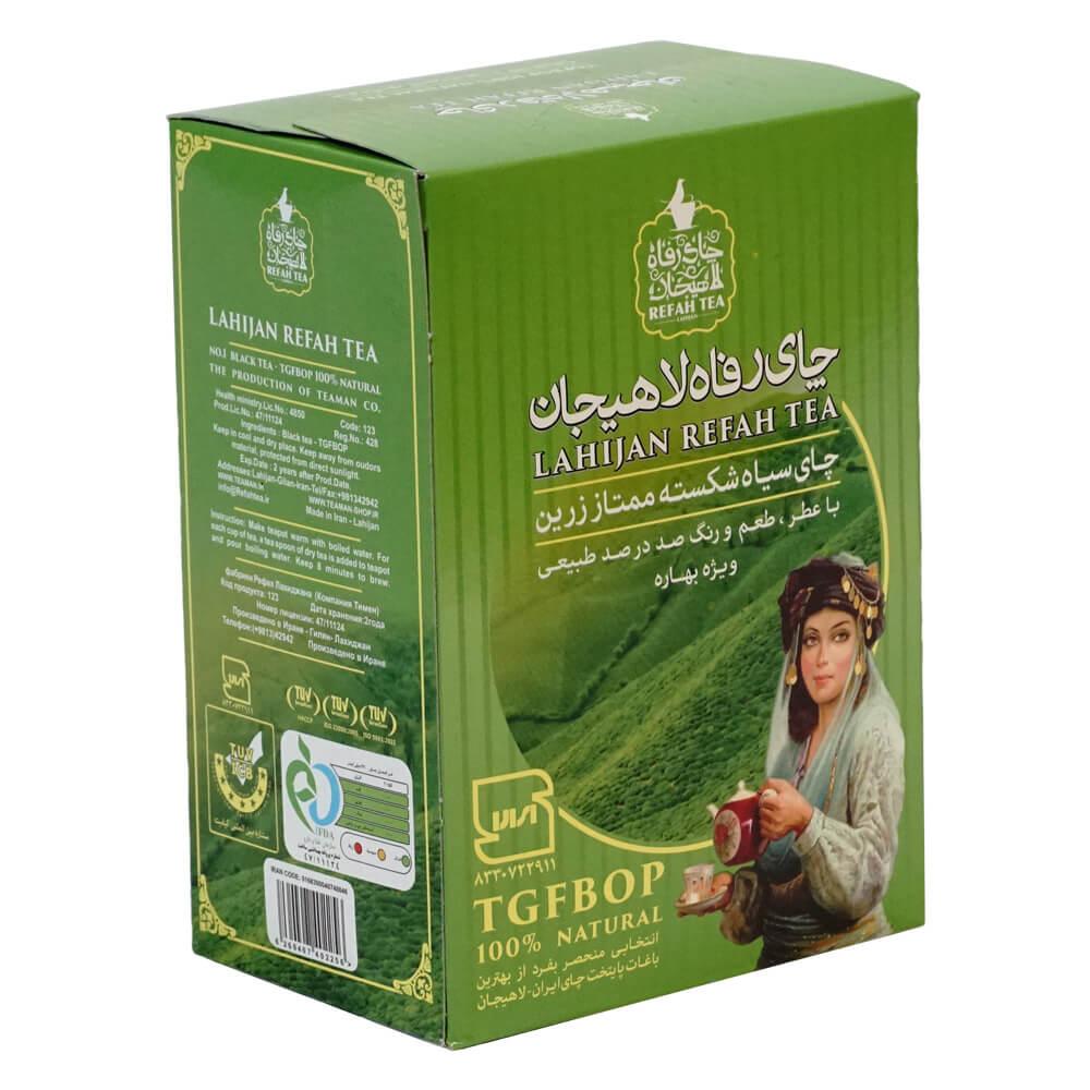 چای سیاه شکسته ممتاز زرین  100٪ طبیعی بهاره ویژه