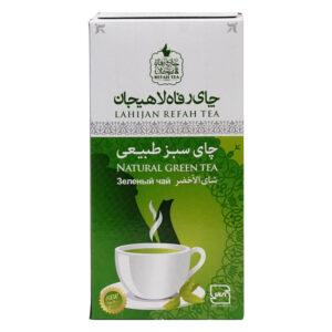 چای سبز طبیعی مقوایی