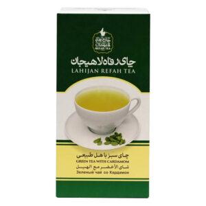 چای سبز با هل طبیعی