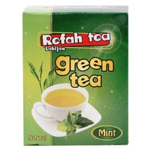 چای سبز با نعناع طبیعی