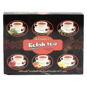 چای تی بگ سیاه 6 طعم