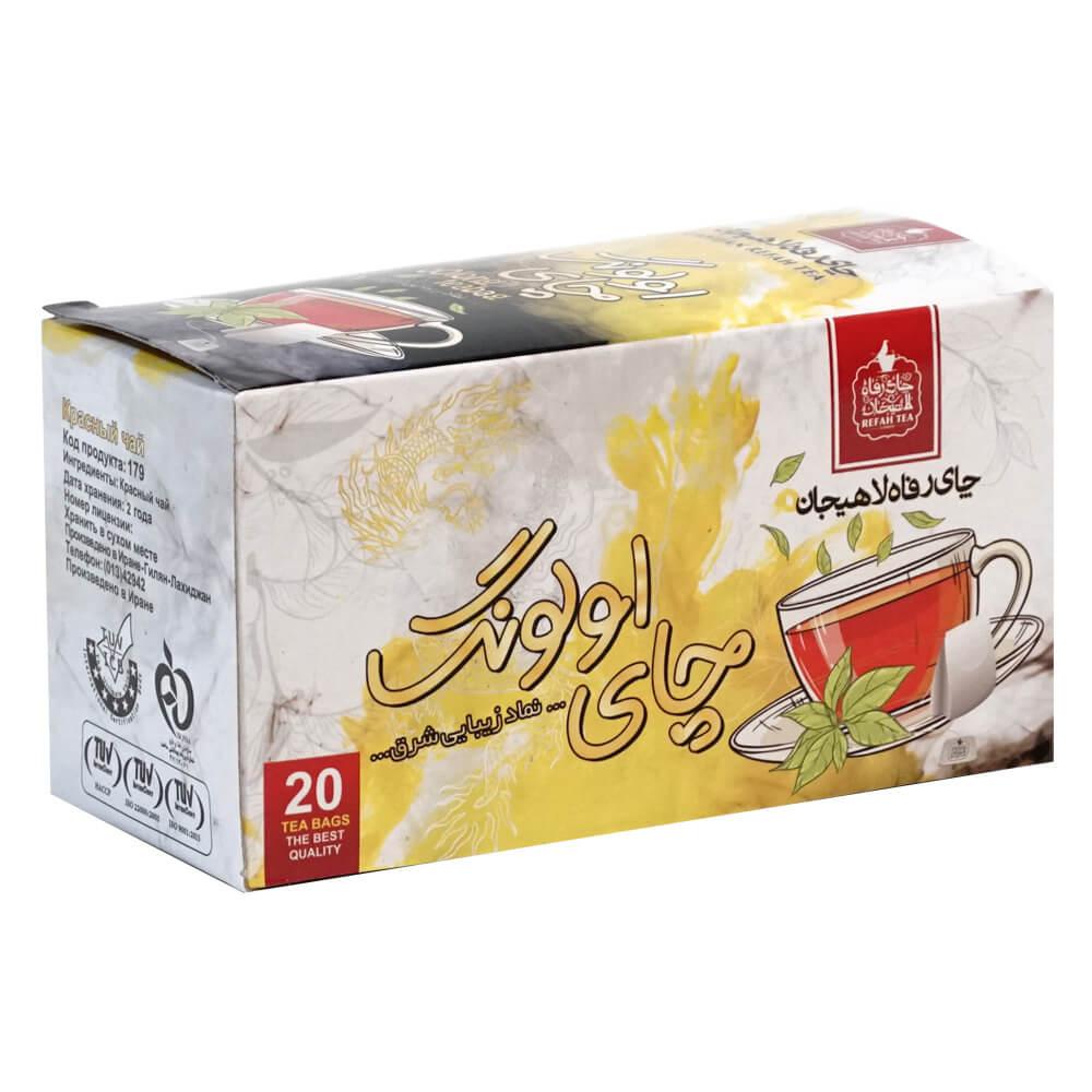 چای اولونگ کیسه ای