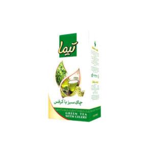چای سبز با کرفس تیما