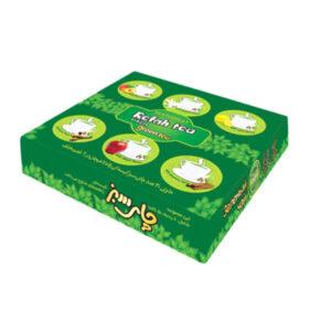 چای تی بگ سبز 6 طعم