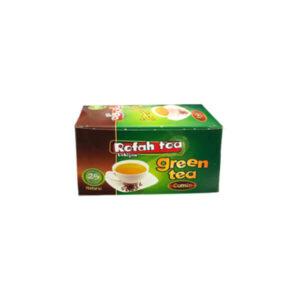چای تی بگ سبز با زیره طبیعی
