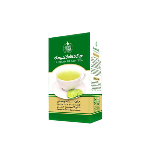 چای سبز با لیمو امانی طبیعی