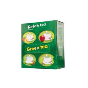 چای سبز تی بگ 4 طعم