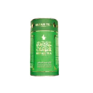 چای سبز طبیعی قوطی