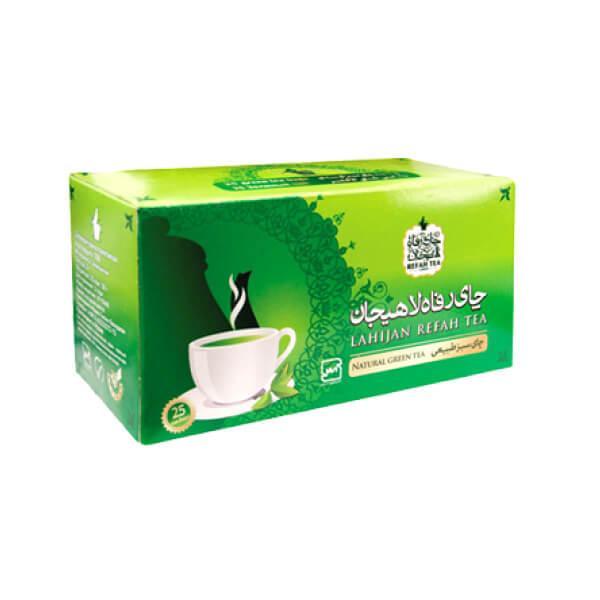 چای سبز کیسه ای