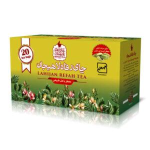 چای تی بگ سیاه با هل طبیعی