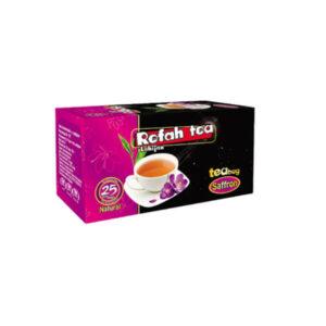 چای تی بگ سیاه با زعفران طبیعی