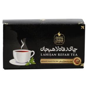 چای سیاه کیسه ای معطر  20 عددی 40گرمی