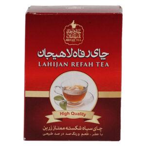 چاي سیاه شكسته ممتاز  زرين 100گرمی