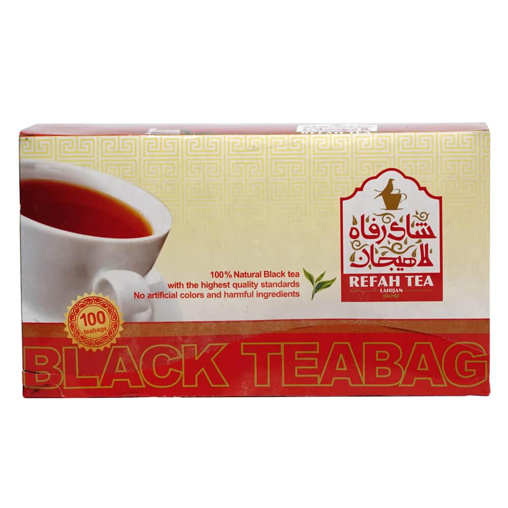 چای سیاه کیسه ای 100 عددی 200 گرمی