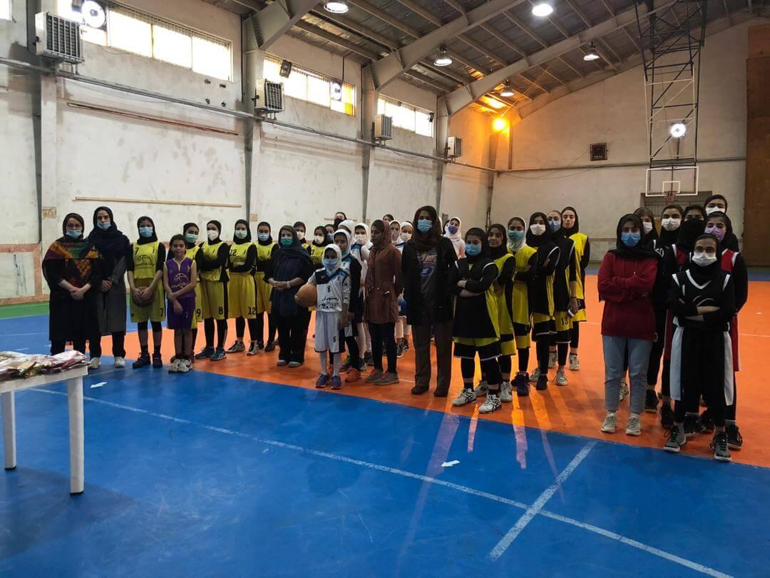 برگزاری مسابقه استانی مهارتهای فردی پرتاب آزاد و سه امتیازی توسط چای رفاه لاهیجان