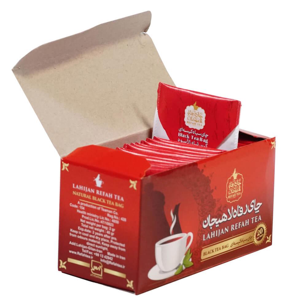 چاي سیاه کیسه ای 20 عددی 40 گرمی
