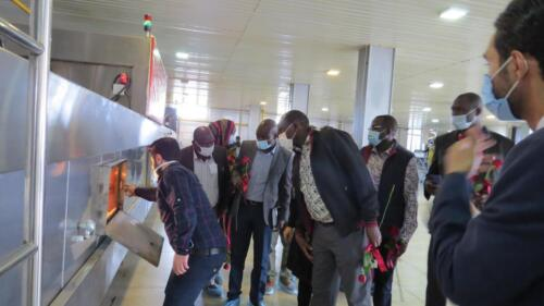 بازدید فعالان اقتصادی کنیایی از شرکت تیمن
